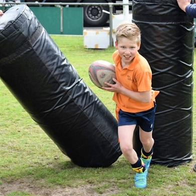 Rugbyclinic buiten